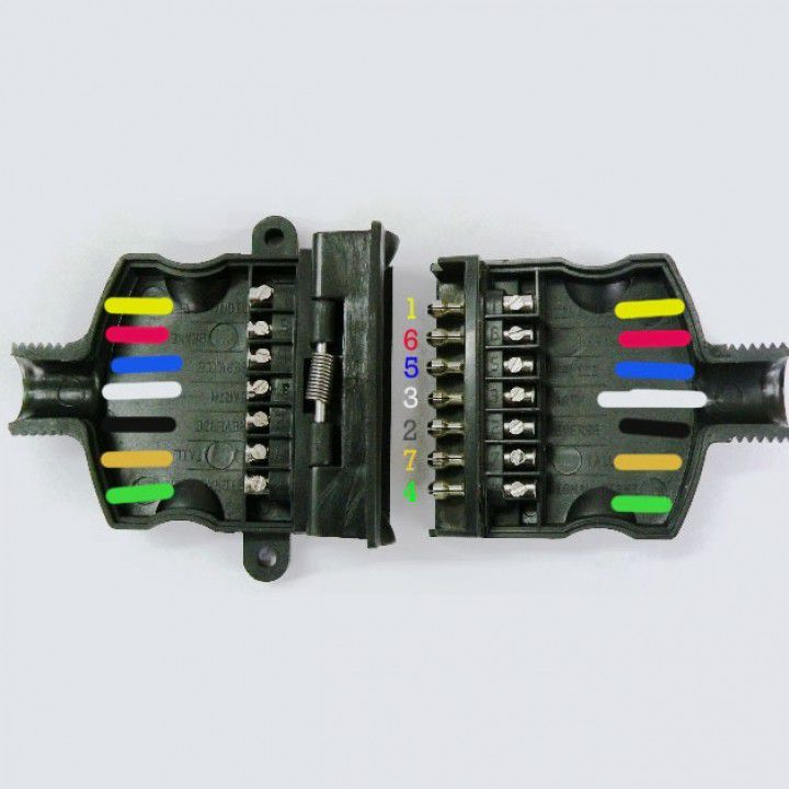Articles prescott trailers the diagram is the new zealand standard for the 7 pin flat trailer plug used on prescott trailers pins 2 and 5 are not used on our standard range of asfbconference2016 Image collections