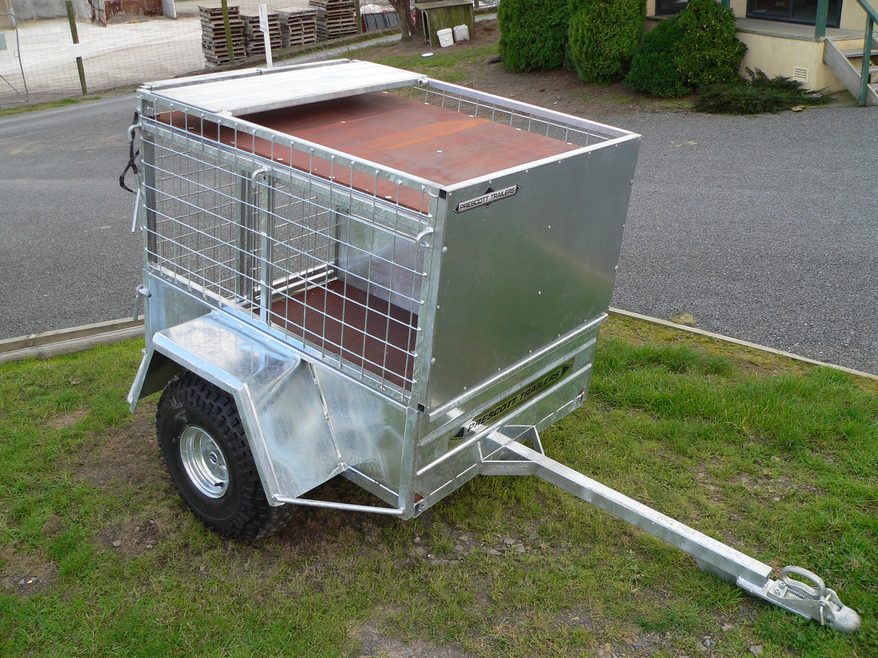 Farm Trailer 4' x 3' Single